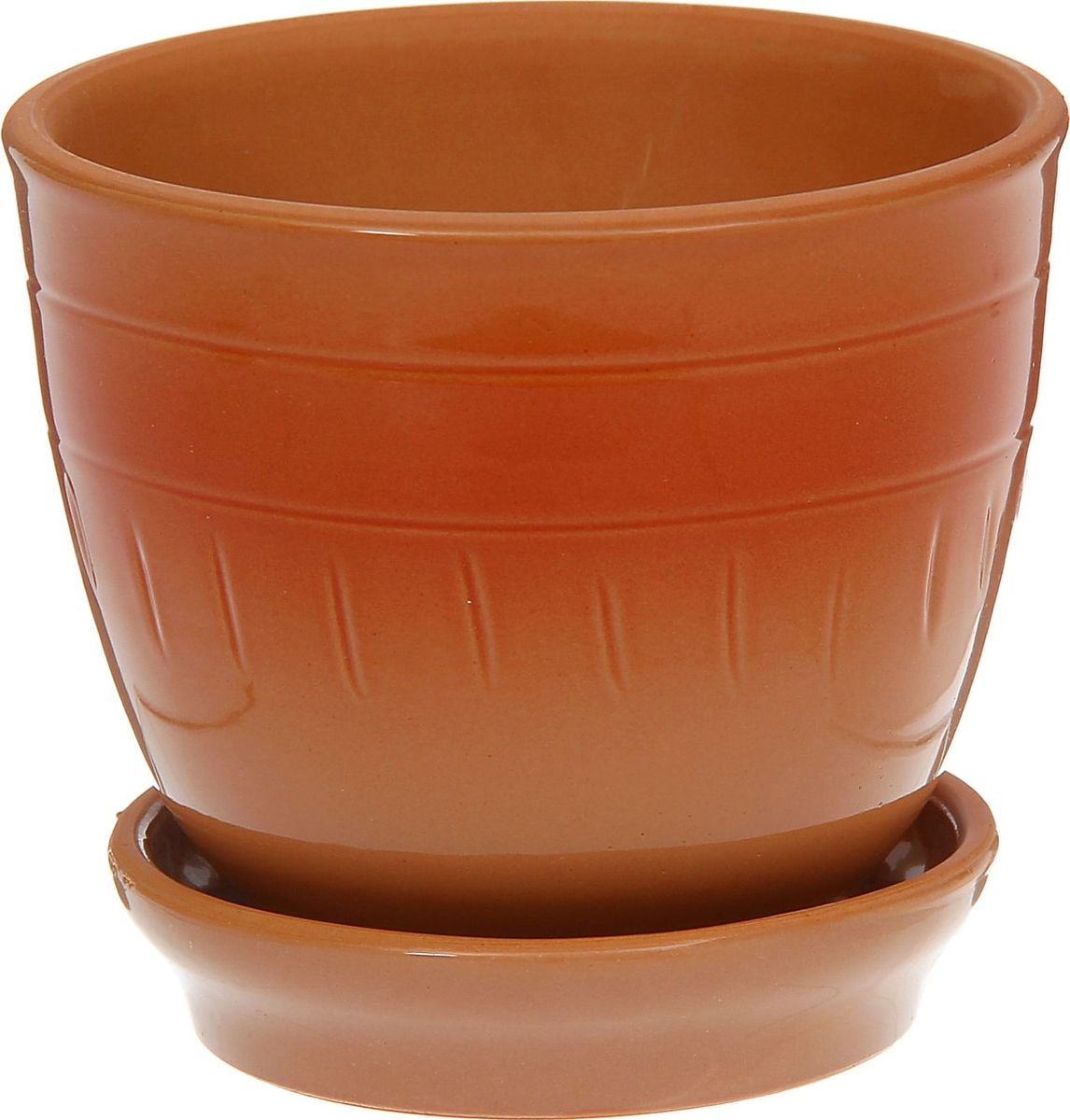 Кашпо Агат, цвет: коричневый, красный, 0,5 л1186715Комнатные растения — всеобщие любимцы. Они радуют глаз, насыщают помещение кислородом и украшают пространство. Каждому из них необходим свой удобный и красивый дом. Кашпо из керамики прекрасно подходят для высадки растений: за счёт пластичности глины и разных способов обработки существует великое множество форм и дизайновпористый материал позволяет испаряться лишней влагевоздух, необходимый для дыхания корней, проникает сквозь керамические стенки! #name# позаботится о зелёном питомце, освежит интерьер и подчеркнёт его стиль.