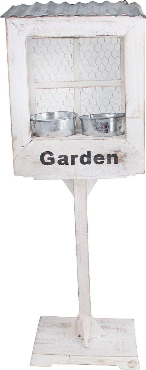Кашпо Винтаж. Garden, 30 х 16 х 82 см1259110Комнатные растения — всеобщие любимцы. Они радуют глаз, насыщают помещение кислородом и украшают пространство. Каждому из растений необходим свой удобный и красивый дом. Поселите зеленого питомца в яркое и оригинальное фигурное кашпо. Выберите подходящую форму для детской, спальни, гостиной, балкона, офиса или террасы. позаботится о растении, украсит окружающее пространство и подчеркнет его оригинальный стиль.