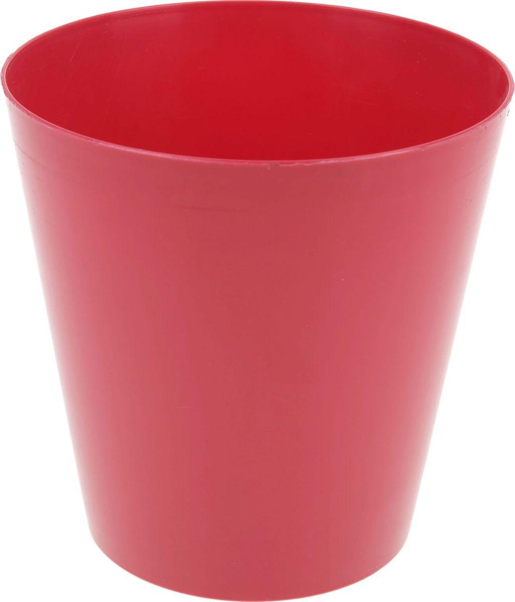 Кашпо Form plastic Вулкано, цвет: ягодный, 19 х 19 х 19 см1324781Любой, даже самый современный и продуманный интерьер будет не завершённым без растений. Они не только очищают воздух и насыщают его кислородом, но и заметно украшают окружающее пространство. Такому полезному &laquo члену семьи&raquoпросто необходимо красивое и функциональное кашпо, оригинальный горшок или необычная ваза! Мы предлагаем - Кашпо 19 см Вулкано, цвет ягодный!Оптимальный выбор материала &mdash &nbsp пластмасса! Почему мы так считаем? Малый вес. С лёгкостью переносите горшки и кашпо с места на место, ставьте их на столики или полки, подвешивайте под потолок, не беспокоясь о нагрузке. Простота ухода. Пластиковые изделия не нуждаются в специальных условиях хранения. Их&nbsp легко чистить &mdashдостаточно просто сполоснуть тёплой водой. Никаких царапин. Пластиковые кашпо не царапают и не загрязняют поверхности, на которых стоят. Пластик дольше хранит влагу, а значит &mdashрастение реже нуждается в поливе. Пластмасса не пропускает воздух &mdashкорневой системе растения не грозят резкие перепады температур. Огромный выбор форм, декора и расцветок &mdashвы без труда подберёте что-то, что идеально впишется в уже существующий интерьер.Соблюдая нехитрые правила ухода, вы можете заметно продлить срок службы горшков, вазонов и кашпо из пластика: всегда учитывайте размер кроны и корневой системы растения (при разрастании большое растение способно повредить маленький горшок)берегите изделие от воздействия прямых солнечных лучей, чтобы кашпо и горшки не выцветалидержите кашпо и горшки из пластика подальше от нагревающихся поверхностей.Создавайте прекрасные цветочные композиции, выращивайте рассаду или необычные растения, а низкие цены позволят вам не ограничивать себя в выборе.