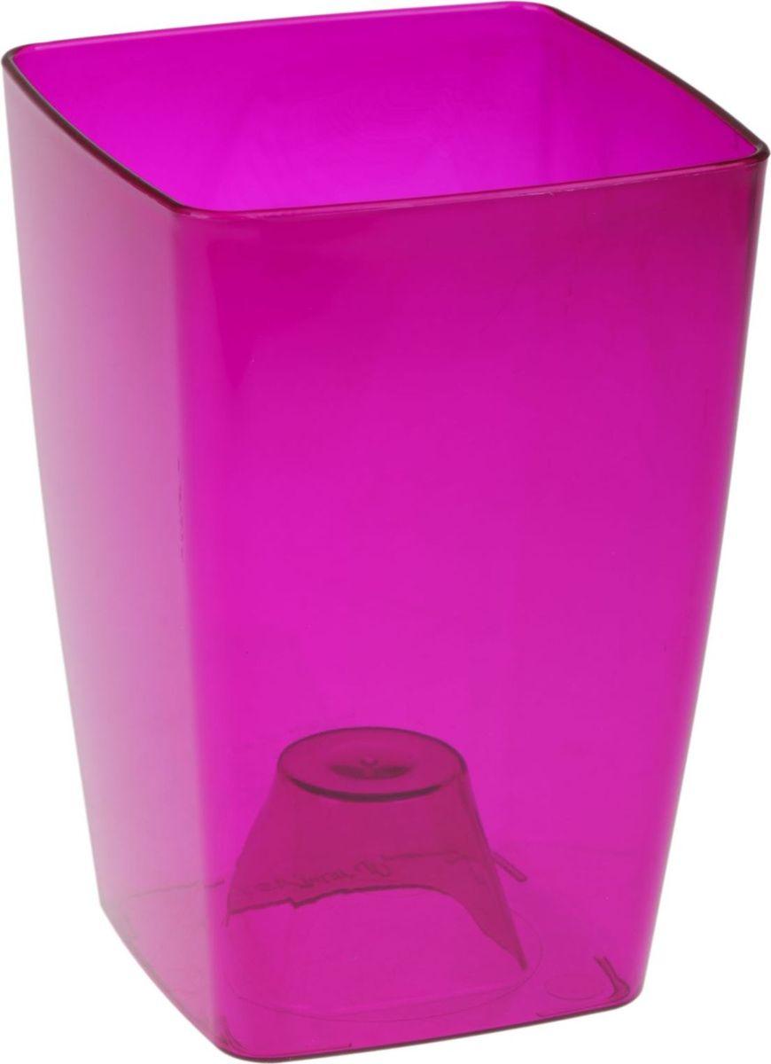 Кашпо JetPlast Сильвия, цвет: темно-фиолетовый, 1,8 л1328239Каждому хозяину периодически приходит мысль обновить свою квартиру, сделать ремонт, перестановку или кардинально поменять внешний вид каждой комнаты. КашпоJetPlast Сильвия - привлекательная деталь, которая поможет воплотить вашу интерьерную идею, создать неповторимую атмосферу в вашем доме. Окружите себя приятными мелочами, пусть они радуют глаз и дарят гармонию. Изделие, выполненное из пластика.