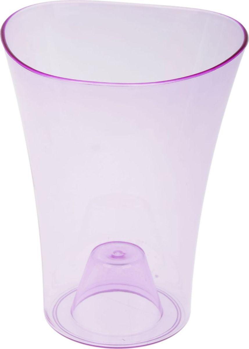 Кашпо JetPlast Волна орхидейная, цвет: фиолетовый, 1,3 л1328254Любой, даже самый современный и продуманный интерьер будет не завершённым без растений. Они не только очищают воздух и насыщают его кислородом, но и заметно украшают окружающее пространство. Такому полезному &laquo члену семьи&raquoпросто необходимо красивое и функциональное кашпо, оригинальный горшок или необычная ваза! Мы предлагаем - Кашпо 1,3 л Волна орхидейная, цвет фиолетовый!Оптимальный выбор материала &mdash &nbsp пластмасса! Почему мы так считаем? Малый вес. С лёгкостью переносите горшки и кашпо с места на место, ставьте их на столики или полки, подвешивайте под потолок, не беспокоясь о нагрузке. Простота ухода. Пластиковые изделия не нуждаются в специальных условиях хранения. Их&nbsp легко чистить &mdashдостаточно просто сполоснуть тёплой водой. Никаких царапин. Пластиковые кашпо не царапают и не загрязняют поверхности, на которых стоят. Пластик дольше хранит влагу, а значит &mdashрастение реже нуждается в поливе. Пластмасса не пропускает воздух &mdashкорневой системе растения не грозят резкие перепады температур. Огромный выбор форм, декора и расцветок &mdashвы без труда подберёте что-то, что идеально впишется в уже существующий интерьер.Соблюдая нехитрые правила ухода, вы можете заметно продлить срок службы горшков, вазонов и кашпо из пластика: всегда учитывайте размер кроны и корневой системы растения (при разрастании большое растение способно повредить маленький горшок)берегите изделие от воздействия прямых солнечных лучей, чтобы кашпо и горшки не выцветалидержите кашпо и горшки из пластика подальше от нагревающихся поверхностей.Создавайте прекрасные цветочные композиции, выращивайте рассаду или необычные растения, а низкие цены позволят вам не ограничивать себя в выборе.