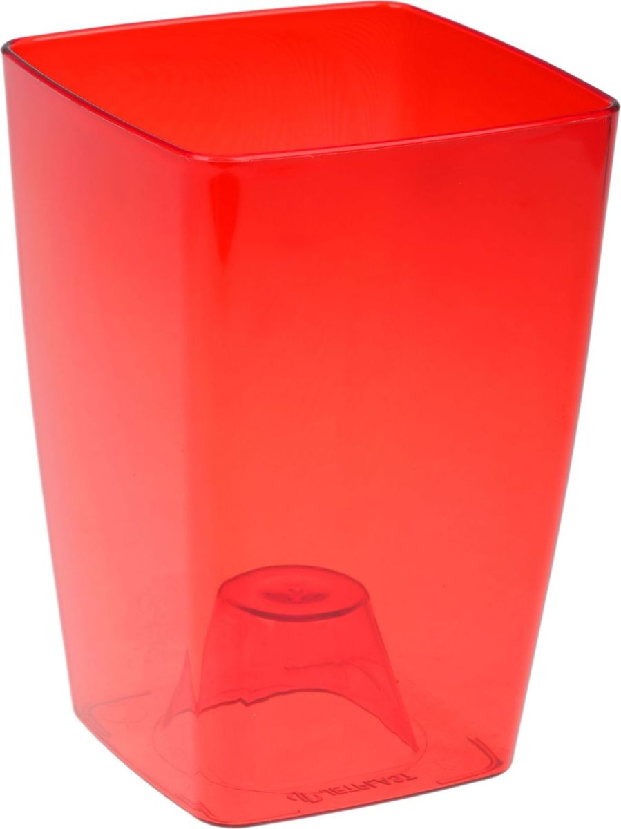 Кашпо JetPlast Сильвия, цвет: красный, 1,8 л1328275Любой, даже самый современный и продуманный интерьер будет не завершённым без растений. Они не только очищают воздух и насыщают его кислородом, но и заметно украшают окружающее пространство. Такому полезному &laquo члену семьи&raquoпросто необходимо красивое и функциональное кашпо, оригинальный горшок или необычная ваза! Мы предлагаем - Кашпо 1,8 л Сильвия, цвет красный!Оптимальный выбор материала &mdash &nbsp пластмасса! Почему мы так считаем? Малый вес. С лёгкостью переносите горшки и кашпо с места на место, ставьте их на столики или полки, подвешивайте под потолок, не беспокоясь о нагрузке. Простота ухода. Пластиковые изделия не нуждаются в специальных условиях хранения. Их&nbsp легко чистить &mdashдостаточно просто сполоснуть тёплой водой. Никаких царапин. Пластиковые кашпо не царапают и не загрязняют поверхности, на которых стоят. Пластик дольше хранит влагу, а значит &mdashрастение реже нуждается в поливе. Пластмасса не пропускает воздух &mdashкорневой системе растения не грозят резкие перепады температур. Огромный выбор форм, декора и расцветок &mdashвы без труда подберёте что-то, что идеально впишется в уже существующий интерьер.Соблюдая нехитрые правила ухода, вы можете заметно продлить срок службы горшков, вазонов и кашпо из пластика: всегда учитывайте размер кроны и корневой системы растения (при разрастании большое растение способно повредить маленький горшок)берегите изделие от воздействия прямых солнечных лучей, чтобы кашпо и горшки не выцветалидержите кашпо и горшки из пластика подальше от нагревающихся поверхностей.Создавайте прекрасные цветочные композиции, выращивайте рассаду или необычные растения, а низкие цены позволят вам не ограничивать себя в выборе.