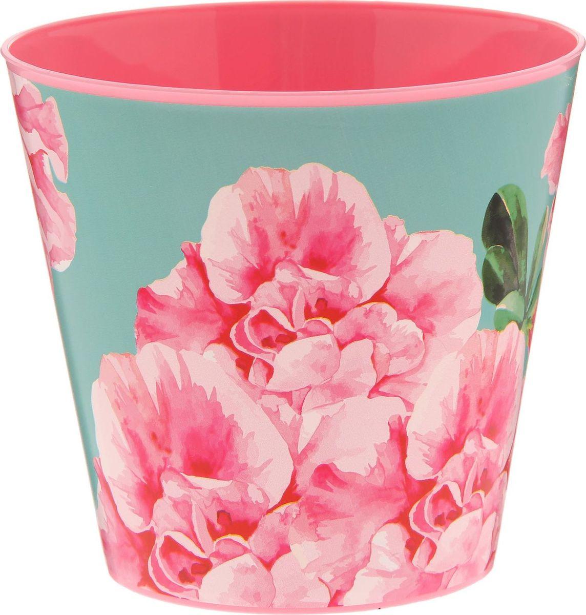 Кашпо Доляна Акварельные цветы, 0,8 л1345292Сложно представить дом, в котором нет растений. Они радуют владельца, очищают воздух, насыщают его кислородом и украшают интерьер. Каждому зеленому помощнику необходим собственный оригинальный домик, и кашпо Акварельные цветы прекрасно справится с этой ролью. Легкое и прочное изделие позволит вам создать чудесные цветочные композиции, вырастить рассаду или необычные растения. Диаметр основания - 8 см.