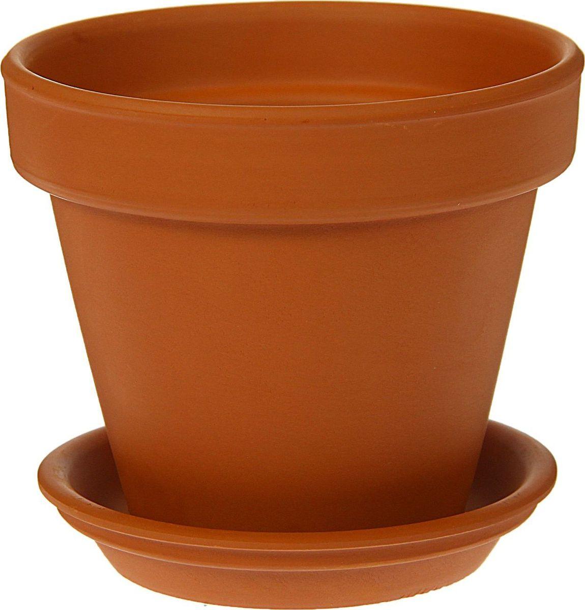 Кашпо Керамика ручной работы Стандарт, 0,6 л1354677Комнатные растения — всеобщие любимцы. Они радуют глаз, насыщают помещение кислородом и украшают пространство. Каждому из них необходим свой удобный и красивый дом. Кашпо из керамики прекрасно подходят для высадки растений: за счёт пластичности глины и разных способов обработки существует великое множество форм и дизайновпористый материал позволяет испаряться лишней влагевоздух, необходимый для дыхания корней, проникает сквозь керамические стенки! #name# позаботится о зелёном питомце, освежит интерьер и подчеркнёт его стиль.