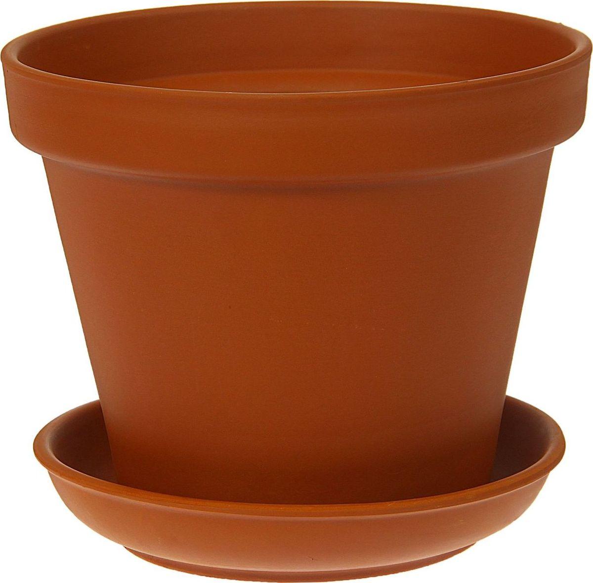Кашпо Керамика ручной работы Стандарт, 4,5 л1354680Комнатные растения — всеобщие любимцы. Они радуют глаз, насыщают помещение кислородом и украшают пространство. Каждому из них необходим свой удобный и красивый дом. Кашпо из керамики прекрасно подходят для высадки растений: за счёт пластичности глины и разных способов обработки существует великое множество форм и дизайновпористый материал позволяет испаряться лишней влагевоздух, необходимый для дыхания корней, проникает сквозь керамические стенки! #name# позаботится о зелёном питомце, освежит интерьер и подчеркнёт его стиль.