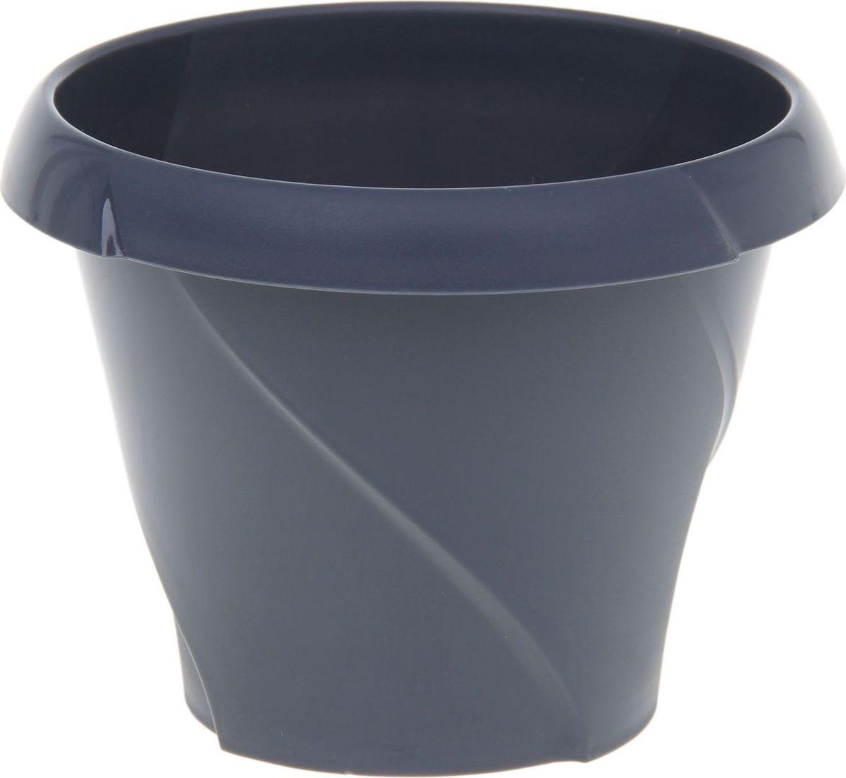 Кашпо Martika Флориана, цвет: серый, 0,7 л1355436Любой, даже самый современный и продуманный интерьер будет не завершённым без растений. Они не только очищают воздух и насыщают его кислородом, но и заметно украшают окружающее пространство. Такому полезному &laquo члену семьи&raquoпросто необходимо красивое и функциональное кашпо, оригинальный горшок или необычная ваза! Мы предлагаем - Кашпо 700 мл Флориана, d=13,5 см, цвет серый!Оптимальный выбор материала &mdash &nbsp пластмасса! Почему мы так считаем? Малый вес. С лёгкостью переносите горшки и кашпо с места на место, ставьте их на столики или полки, подвешивайте под потолок, не беспокоясь о нагрузке. Простота ухода. Пластиковые изделия не нуждаются в специальных условиях хранения. Их&nbsp легко чистить &mdashдостаточно просто сполоснуть тёплой водой. Никаких царапин. Пластиковые кашпо не царапают и не загрязняют поверхности, на которых стоят. Пластик дольше хранит влагу, а значит &mdashрастение реже нуждается в поливе. Пластмасса не пропускает воздух &mdashкорневой системе растения не грозят резкие перепады температур. Огромный выбор форм, декора и расцветок &mdashвы без труда подберёте что-то, что идеально впишется в уже существующий интерьер.Соблюдая нехитрые правила ухода, вы можете заметно продлить срок службы горшков, вазонов и кашпо из пластика: всегда учитывайте размер кроны и корневой системы растения (при разрастании большое растение способно повредить маленький горшок)берегите изделие от воздействия прямых солнечных лучей, чтобы кашпо и горшки не выцветалидержите кашпо и горшки из пластика подальше от нагревающихся поверхностей.Создавайте прекрасные цветочные композиции, выращивайте рассаду или необычные растения, а низкие цены позволят вам не ограничивать себя в выборе.