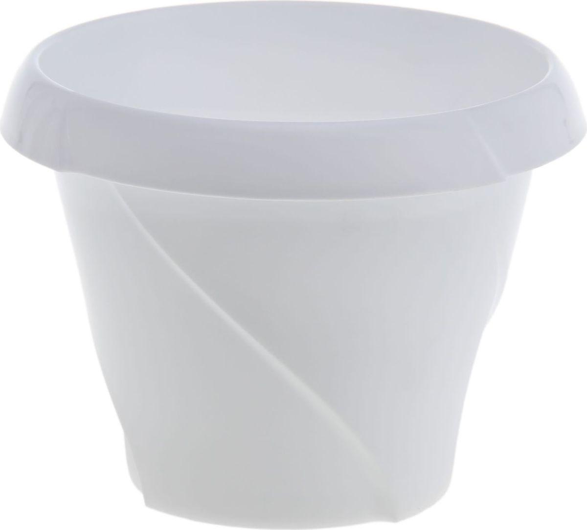 Кашпо Martika Флориана, цвет: белый, 1,4 л1355437Любой, даже самый современный и продуманный интерьер будет не завершённым без растений. Они не только очищают воздух и насыщают его кислородом, но и заметно украшают окружающее пространство. Такому полезному &laquo члену семьи&raquoпросто необходимо красивое и функциональное кашпо, оригинальный горшок или необычная ваза! Мы предлагаем - Кашпо 1,4 л Флориана, d=17 см, цвет белый!Оптимальный выбор материала &mdash &nbsp пластмасса! Почему мы так считаем? Малый вес. С лёгкостью переносите горшки и кашпо с места на место, ставьте их на столики или полки, подвешивайте под потолок, не беспокоясь о нагрузке. Простота ухода. Пластиковые изделия не нуждаются в специальных условиях хранения. Их&nbsp легко чистить &mdashдостаточно просто сполоснуть тёплой водой. Никаких царапин. Пластиковые кашпо не царапают и не загрязняют поверхности, на которых стоят. Пластик дольше хранит влагу, а значит &mdashрастение реже нуждается в поливе. Пластмасса не пропускает воздух &mdashкорневой системе растения не грозят резкие перепады температур. Огромный выбор форм, декора и расцветок &mdashвы без труда подберёте что-то, что идеально впишется в уже существующий интерьер.Соблюдая нехитрые правила ухода, вы можете заметно продлить срок службы горшков, вазонов и кашпо из пластика: всегда учитывайте размер кроны и корневой системы растения (при разрастании большое растение способно повредить маленький горшок)берегите изделие от воздействия прямых солнечных лучей, чтобы кашпо и горшки не выцветалидержите кашпо и горшки из пластика подальше от нагревающихся поверхностей.Создавайте прекрасные цветочные композиции, выращивайте рассаду или необычные растения, а низкие цены позволят вам не ограничивать себя в выборе.