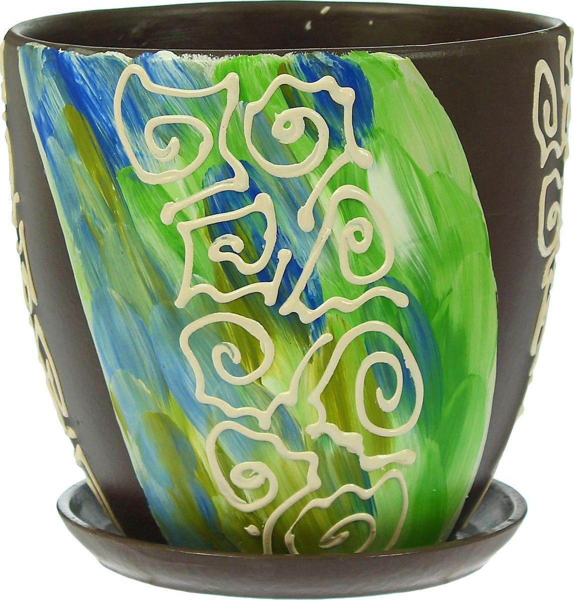 Кашпо Аква, 2,6 л1403444Комнатные растения — всеобщие любимцы. Они радуют глаз, насыщают помещение кислородом и украшают пространство. Каждому из них необходим свой удобный и красивый дом. Кашпо из керамики прекрасно подходят для высадки растений: за счёт пластичности глины и разных способов обработки существует великое множество форм и дизайновпористый материал позволяет испаряться лишней влагевоздух, необходимый для дыхания корней, проникает сквозь керамические стенки! #name# позаботится о зелёном питомце, освежит интерьер и подчеркнёт его стиль.
