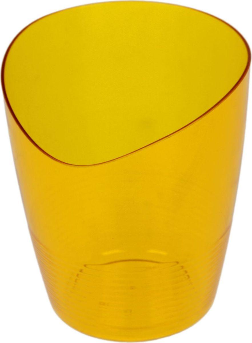Кашпо Berossi Mia, для орхидеи, цвет: оранжевый, 0,8 л1407045