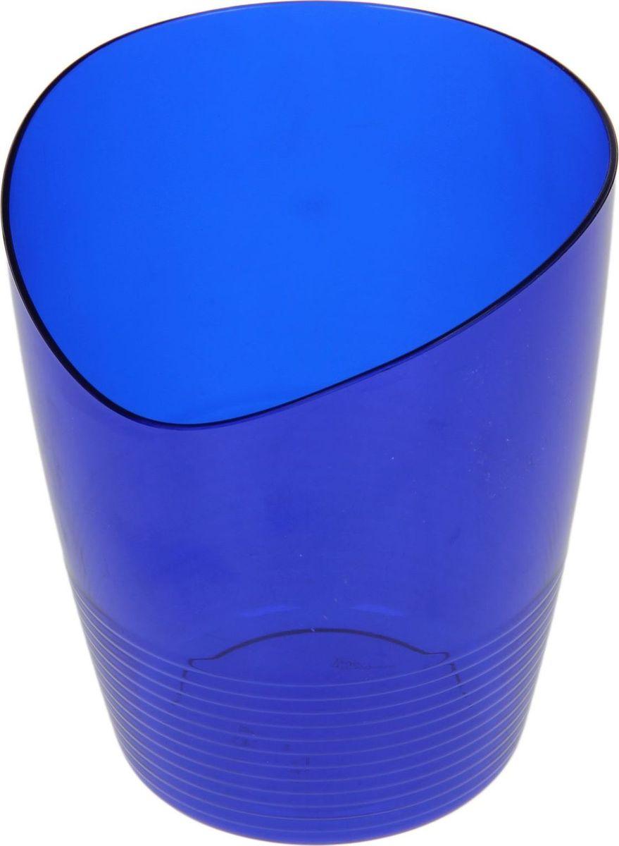 Кашпо Berossi Mia, для орхидеи, цвет: синий, 0,8 л1407046