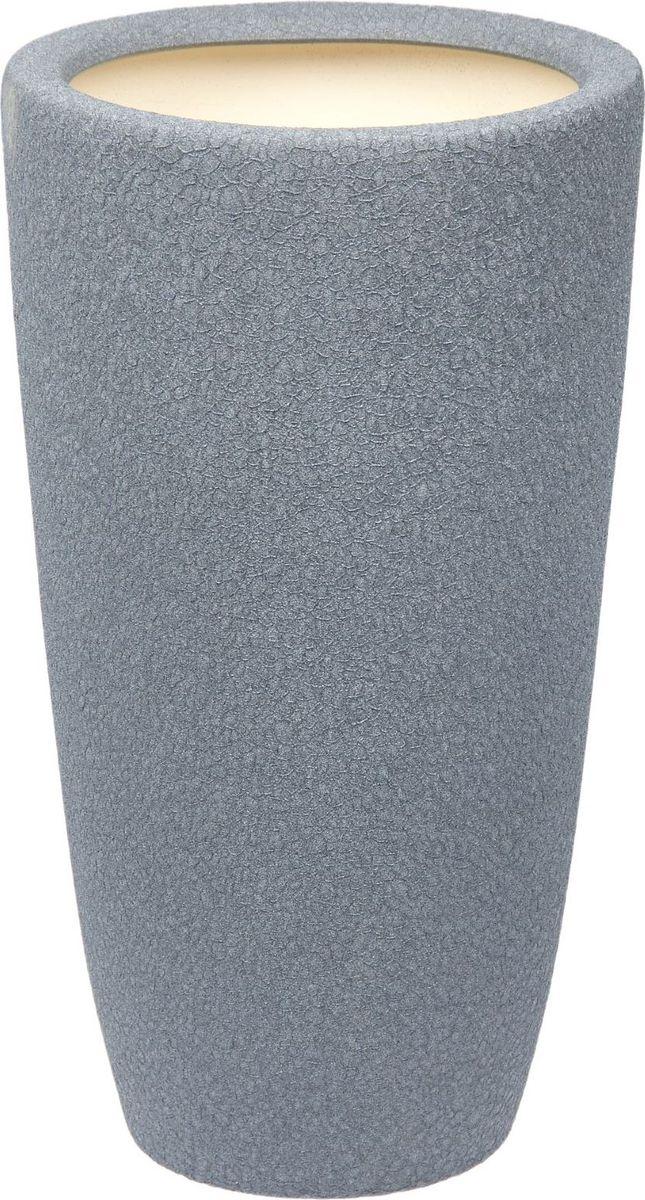 Кашпо Керамика ручной работы Цилиндр, цвет: металлик, 17 л1489734Комнатные растения — всеобщие любимцы. Они радуют глаз, насыщают помещение кислородом и украшают пространство. Каждому из них необходим свой удобный и красивый дом. Кашпо из керамики прекрасно подходят для высадки растений: за счёт пластичности глины и разных способов обработки существует великое множество форм и дизайновпористый материал позволяет испаряться лишней влагевоздух, необходимый для дыхания корней, проникает сквозь керамические стенки! #name# позаботится о зелёном питомце, освежит интерьер и подчеркнёт его стиль.