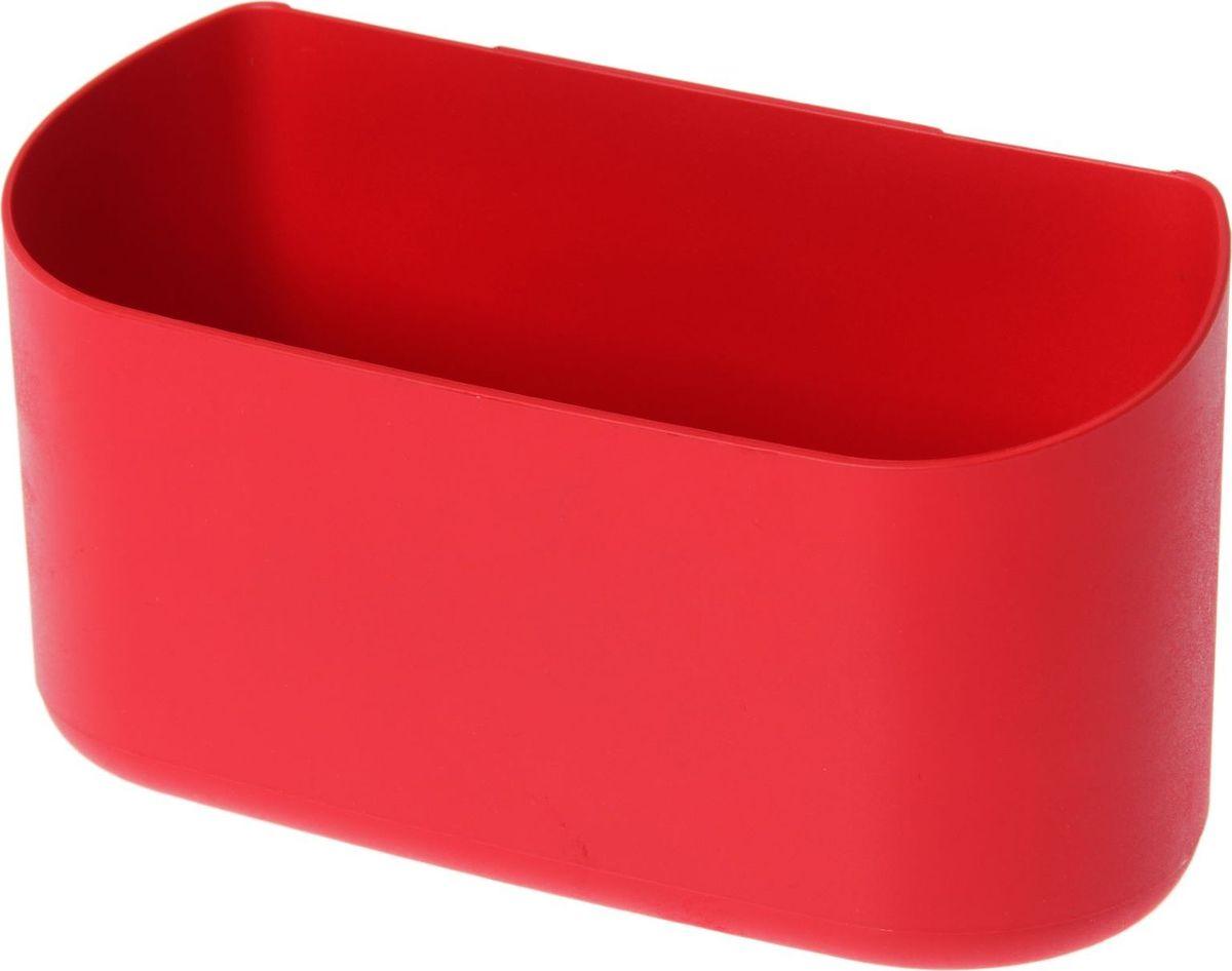 Кашпо WallGarden, для фитомодуля, цвет: красный, 21,9 х 8,9 х 9,5 см1495077Фитомодуль — новинка в области вертикального озеленения. Конструкция, как и сборка, предельно проста. Повесьте панель фитомодуля на стену, вставьте кашпо в специальные пазы и готово!Он экономит пространство, презентабельно выглядит и органично дополнит релакс-зону в офисе или дома. При желании вы легко измените композицию, перемещая кашпо или меняя цветы.Разместите в фитомодуле искусственные растения или создайте интерьерную композицию, используя, например, яркие карандаши, фломастеры, игрушки, на что хватит фантазии.Родители маленьких детей оценят, что конструкцию можно разместить высоко, и малыши не смогут «исследовать» её. Станьте флористом, сотворите уникальную композицию!