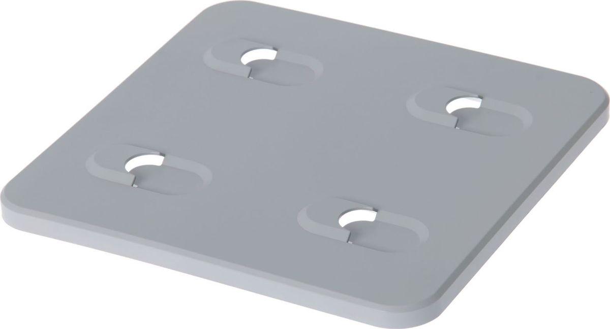 Панель фитомодуля WallGarden, настенная, цвет: серый, 25,7 х 25,7 х 1,5 см1495081Фитомодуль — новинка в области вертикального озеленения. Конструкция, как и сборка, предельно проста. Повесьте панель фитомодуля на стену, вставьте кашпо в специальные пазы и готово!Он экономит пространство, презентабельно выглядит и органично дополнит релакс-зону в офисе или дома. При желании вы легко измените композицию, перемещая кашпо или меняя цветы.Разместите в фитомодуле искусственные растения или создайте интерьерную композицию, используя, например, яркие карандаши, фломастеры, игрушки, на что хватит фантазии.Родители маленьких детей оценят, что конструкцию можно разместить высоко, и малыши не смогут «исследовать» её. Станьте флористом, сотворите уникальную композицию!
