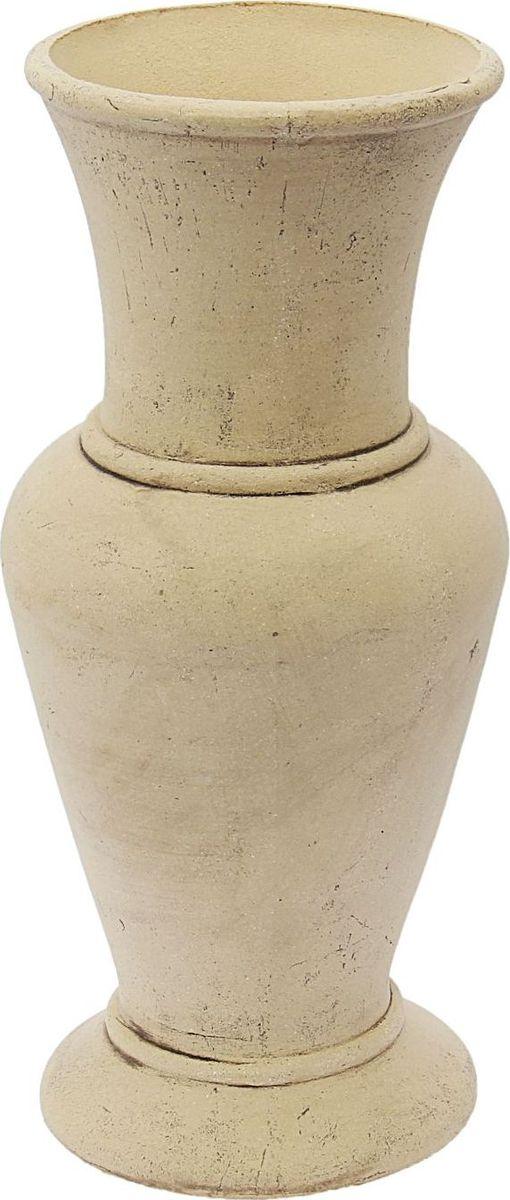Вазон Керамика ручной работы Ваза-Даня, цвет: белый, 21 х 21 х 50 см1608107 Вазон Ваза-Даня белая — настоящая находка для садоводов. Это замечательное изделие, словно претерпевшее влияние времени, станет изысканной деталью вашего участка.Фигура выполнена исключительно из шамотной глины, которая делает её:абсолютно нетоксичнойустойчивой к воздействию окружающей среды (морозостойкой)устойчивой к изменению цвета и структуры (не шелушится и не облезает). При декорировании используются только качественные пигменты. Глина обжигается в два этапа: утилитный (900 °С) с последующим декорированием и политой (1100 °С). Такая технология придаёт изделию необходимую крепость.
