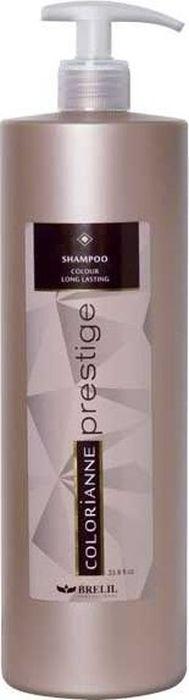 Brelil Colorianne Prestige Shampoo Colour Long Lasting Шампунь для поддержания цвета на длительный срок 1000 млB008119Шампунь Colour Long Lasting для сохранения косметического цвета волос с кислым рН. Эффективно нейтрализует остатки щёлочи в волосах после окрашивания. Восстанавливает кислотно-щелочной баланс кожи головы и волос. Стабилизирует и закрепляет косметический цвет волос. Плотно закрывает чешуйки волос, выравнивает кутикулу волос. Придает волосам блеск и насыщенность цвета.