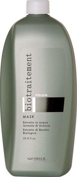 Brelil Bio Traitement Volume Mask Маска для придания объема 1000 млB069606Brelil Bio Traitement Volume Mask Маска для придания объёма придаёт великолепный объём даже самым тонким и ослабленным волосам, укрепляет волосы, делает их гибкими, сохраняя интенсивность цвета. Средство создано на основе формулы, в состав которой входят органический экстракт бамбука, натуральный экстракт апельсина и термальная вода. Благодаря экстракту апельсина к ослабленным и повреждённым волосам возвращается природный иммунитет, в результате чего они становятся сильными и послушными. Экстракт бамбука обладает замечательным обволакивающим свойством воздействуя на каждый волос в отдельности он обеспечивает всей структуре волос защиту от окружающей среды, делает волосы очень мягкими и легко расчёсываемыми. Термальная вода осуществляет увлажнение волос, тонизирует и освежает кожу головы. Маска Brelil Volume Mask для придания объёма наполняет волосы прекрасным природным блеском и отличным здоровьем. Средство не содержит красителей и другие вредные вещества.