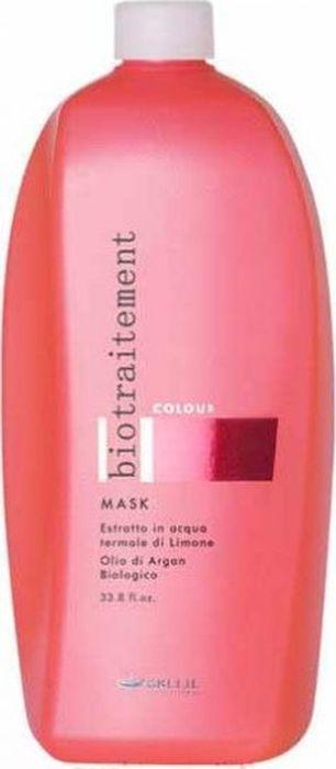 Brelil Bio Traitement Colour Mask Маска для окрашенных волос 1000 млB69651Brelil Bio Traitement Colour Mask Маска для окрашенных волос создано на основе инновационной формулы, разработанной специалистами итальянской компании Brelil. В состав средства входят два главных компонента экстракт лимона и биологическое аргановое масло. Аргановое масло, которое является одним из самых редких, ценных и дорогостоящих косметических масел, содержит повышенное количество витамина Е и осуществляет полноценное питание волос, обладает мощным антиоксидантным свойством, увлажняет кожу головы, при этом устраняет неприятный зуд, который может появиться после процедуры окрашивания. Экстракт лимона, который известен своим высоким содержанием витамина С, обеспечивает восстановление ослабленных волос, увлажняет кутикулу волоса и придаёт волосам великолепный блеск.Маска Брелил Colour Mask идеально подходит для тщательного ухода за повреждёнными окрашенными волосами, сохраняет и поддерживает интенсивность цвета. Активные компоненты: аргановое масло, экстракт лимона, термальная вода, пантенол.