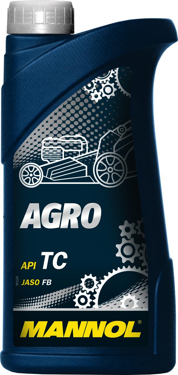Масло моторное MANNOL Agro API TC, минеральное, 1 л1435Моторное масло Mannol Agro TC - высококачественное моторное масло для двухтактных двигателей минитракторов, газонокосилок, триммеров, культиваторов, цепных и дисковых бензопил, специальной техники для лесного хозяйства и другого садового оборудования, где используется раздельная система смазки или непосредственное смешение с топливом. Беззольный пакет присадок обеспечивает высокую степень сгорания и значительно увеличивает моторесурс сельско- хозяйственных агрегатов. Соответствует строгим экологическим требованиям по биоразлагаемости в почве. Для выбора правильной концентрации следуйте предписаниям производителей техники.Допуски и соответствия - JASO FB.Класс качества по API: TC.Вязкость при 100°C: 10,17 CSt.Вязкость при 40°C: 79,54 CSt.Индекс вязкости: 109.Плотность при 15°C: 883 kg/m3.Температура вспышки COC: 158 °C.Температура застывания: -27 °C.Щелочное число: 1,12 gKOH/kg.Товар сертифицирован.