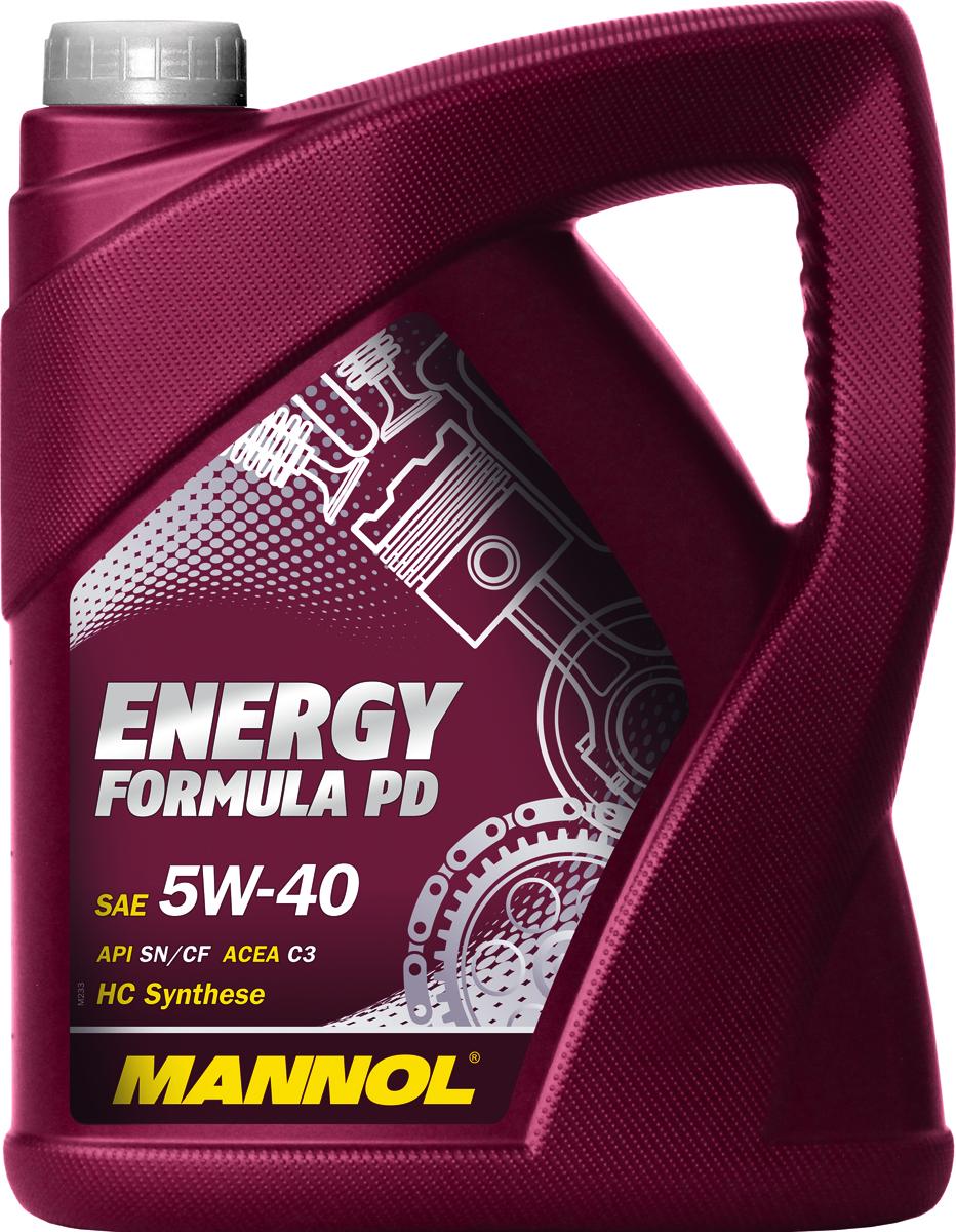 "Масло моторное MANNOL ""Energy Formula PD"", 5W-40, синтетическое, 4 л 4014"