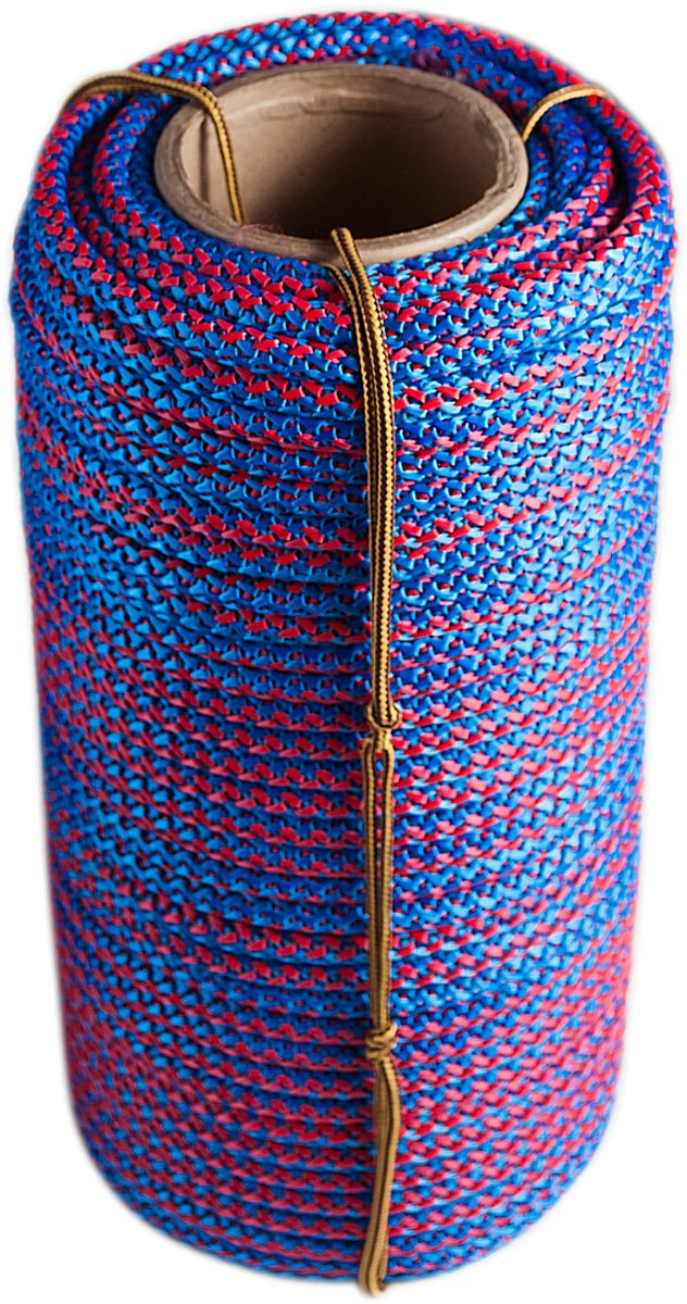 Шнур вязаный Шнурком, с сердечником, 8 мм, 100 м шнур плетеный шнурком с сердечником диаметр 4 мм длина 20 м