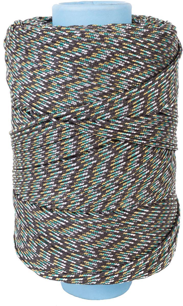 Шнур плетеный Шнурком, с сердечником, диаметр 4 мм, длина 100 м шнур плетеный шнурком с сердечником диаметр 4 мм длина 20 м