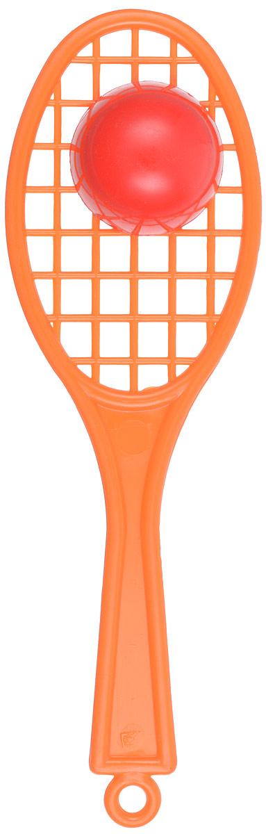 Аэлита Погремушка Ракетка цвет оранжевый