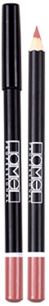 Lamel Professional Карандаш для губ 04, 1,7 г5060449181963Мягкий матовый карандаш от Lamel, который подойдет практически к подобраному оттенку помады, а также может использоваться для создания матового покрытия на всей поверхности губ. Кремовая высокопигментированная текстура ложится равномерным гладким слоем, позволяя легко подчеркнуть контур губ, скорректировать их форму и предотвратить растекание помады.