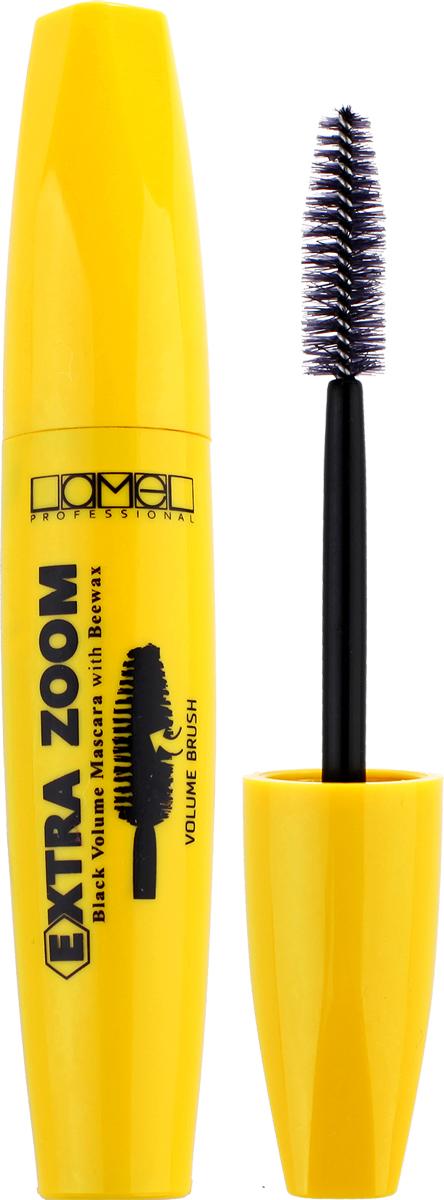 Lamel Professional Тушь для ресниц Extra Zoom, 10 мл туши lamel lamel professional тушь для ресниц ideal lash