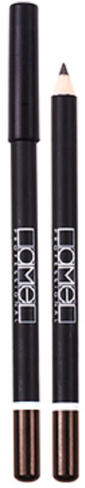 Lamel Professional Карандаш для глаз 118, 1,7 г5060449182977Классический косметический карандаш для глаз от Lamel сочетает в себе особую смесь масел, воска и высокую степень пигментации, создавая мягкую, тонкую, легко растушевываемую линию, которой легко управлять. Результат – шикарный, глубокий и пленительный взгляд.