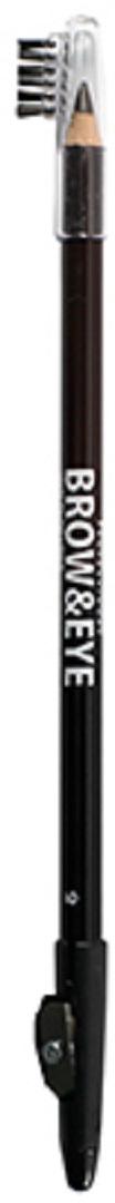 Lamel Professional Карандаш для глаз и бровей Brow&Eye с точилкой 01, 1,7 г туши lamel lamel professional тушь для ресниц ideal lash