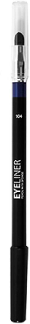 Lamel Professional Карандаш для глаз Eye liner с растушовкой 104, 1,7 г5060449184674Благодаря сочетанию воска, масел и пигментов карандаш для глаз легко и ровно ложится и дает насыщенный цвет. Хорошо растушевываются, и подходит для Smokey eyes.