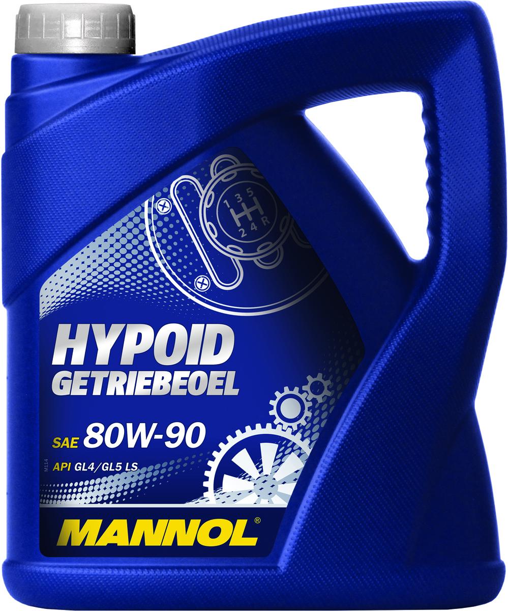 Масло трансмиссионное MANNOL Hypoid Getriebeoel, 80W-90, минеральное, 4 л1354Трансмиссионное масло Mannol Hypoid Getriebeoel - всесезонное высококачественное трансмиссионное масло на минеральной основе, разработанное для высоконагруженных гипоидных передач. Выдерживает экстремальные нагрузки. Может использоваться также для смазки конических, цилиндрических и червячных передач.Продукт имеет допуски / соответствует спецификациям / продуктам: MIL-L 2105 D, MAN 342, MACK GO-J. Класс качества по API: GL 4/GL 5 LS. Вязкость при 100°C: 16,3 CSt. Вязкость при 40°C: 159,6 CSt. Индекс вязкости: 107. Плотность при 15°C: 892 kg/m3. Температура вспышки COC: 210 °C. Температура застывания: -25 °C. Товар сертифицирован.