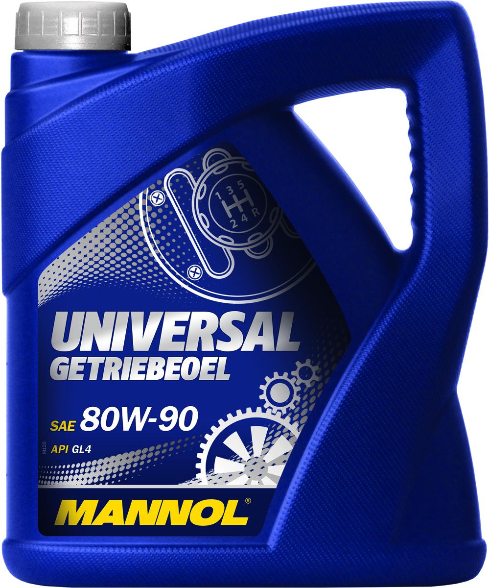 Масло трансмиссионное MANNOL Universal Getriebeoel, 80W-90, полусинтетическое, 4 л1355Трансмиссионное масло MANNOL Universal Getriebeoel - универсальное высококачественное трансмиссионное масло, предназначенное для смазки механических коробок передач, синхронизаторов, ведущих мостов, работающих при умеренных и высоких нагрузках. Обеспечивает надежную смазку и отличную противокоррозионную защиту. Продукт имеет допуски / соответствует спецификациям / продуктам: MIL-L 2105. Класс качества по API: GL-4. Вязкость при 100°C: 16,4 CSt. Вязкость при 40°C: 165,2 CSt. Индекс вязкости: 105. Плотность при 15°C: 892 kg/m3. Температура вспышки COC: 214 °C. Температура застывания: -25 °C. Товар сертифицирован.