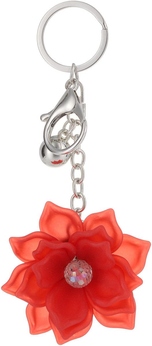 Брелок Taya, цвет: серебристый, красный. T-B-13276