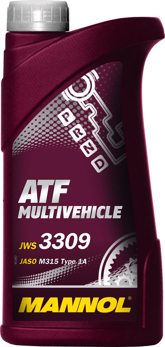 Трансмиссионное масло MANNOL ATF Multivehicle, синтетическое, 1 л1937Трансмиссионное масло MANNOL ATF Multivehicle -специальная жидкость на основе смеси высококачественныхбазовых масел и новейшего пакета присадок дляавтоматических трансмиссий современных автомобилей.Уникальный состав модификаторов трения позволяетподдерживать необходимый уровень фрикционных свойств втечение длительного срока и обеспечивать плавное и мягкоепереключение передач. Стойкость к воздействию высокихтемператур и отличные низкотемпературные характеристикижидкости позволяют надежно работать трансмиссии прилюбых климатических условиях.Жидкость предназначена для различных АКПП легковых икоммерческих автомобилей японского и корейскогопроизводства. Может использоваться АКПП: Toyota, Nissan,Mitsubishi, Mazda, Honda (кроме CVT), Suzuki, Subaru, Hyundai. Продукт имеет допуски / соответствует спецификациям /продуктам: AISIN WARNER JWS 3309 JASO M315 Type 1A JATCO ATF JATCO 3100 PLO85 TOYOTA ATF Type T/T-II/T-III/T-IV NISSAN/INFINITI MATIC D/J/K NISSAN/TEXACO N402 (JATCO FWD) MITSUBISHI Diamond SP-II/SP-III MAZDA ATF-M III / ATF-MV DAIHATSU Alumix ATF Multi HONDA ATF Z-1 (not for CVT) / ATF DW-1 SUZUKI 3314, 3317, 2384K SUZUKI ATF Oil / ATF Oil Special SUBARU ATF, ATF-HP HYUNDAI / KIA SP-II, SP-III IDEMITSU K17-Jaguar X Type 2001-2005 MOPAR AS68RC GM DEXRON II/IID/IIE/IIIF/IIIG/IIIH CHRYSLER ATF +3/+4 VW/AUDI G-052-025-A2 / G-052-162-A1 / G-052-990 A1/A2/ G-055-025 A1/A2 BMW 7045E (3 Series) / ETL-8072B (5 Series) / LA2634,LT71141 (ZF 5 Speed) MERCEDES-Benz 236.1/2/3/5/6/7/9/10/11 PORSCHE JWS 3309 VOLVO 97340/97341 VOITH 55.6335.XX (G607) ALLISON C-4 ZF TE-ML 03D/04D/11B/14A/14B/16L/17 FORD MERCON V, FNR5 MAN 339F/V1/V2/Z1/Z2