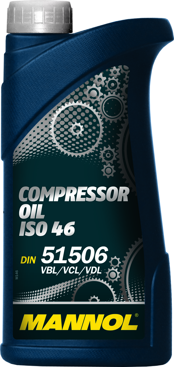 Масло моторное MANNOL Compressor Oil, ISO 46, минеральное, 1 л1923Моторное масло Mannol Compressor Oil ISO 46 - специальное минеральное масло на глубокоочищенной базовой основе, предназначенное для смазывания пневмоинструмента, поршневых и ротационных компрессоров. Беззольный пакет присадок предупреждает образование высокотемпературных отложений. Обладает великолепными антикоррозионными, антиизносными и противозадирными характеристиками. Обеспечивает стабильную и бесперебойную работу оборудования в течении всего срока эксплуатации. Продукт имеет допуски / соответствует спецификациям / продуктам: DIN 51 506 VBL, VCL & VDL, ISO 46, ISO L DAA, DAB, DAG & DAH.Вязкость при 100°C: 6,58 CSt. Вязкость при 40°C: 45,08 CSt. Индекс вязкости: 96. Плотность при 15°C: 883 kg/m3. Температура вспышки COC: 216 °C. Температура застывания: -30 °C. ISO-класс: 46.Товар сертифицирован.