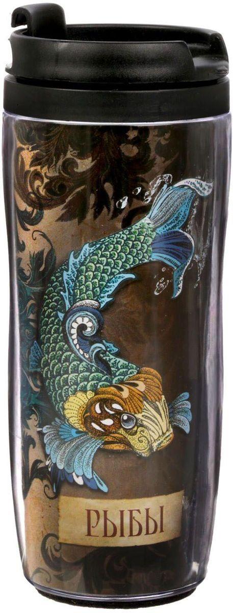 Термостакан Sima-land Гороскоп. Рыбы, 350 мл1868986Термостакан Sima-land создан для тех, кто всегда находится в движении. Он выполнен из пластика. Преподнесите своему близкому такой подарок и он, наслаждаясь любимым напитком, будет вспоминать о вас везде: на работе, отдыхе, в дороге. Особенности:Противоскользящая прокладка на дне.Классическая форма высокого стакана обеспечит удобство использования.Авторский дизайн подчеркнет индивидуальность обладателя.Сменный вкладыш.Такой термостакан — практичный аксессуар и чудесный подарок для себя, друга или коллеги.