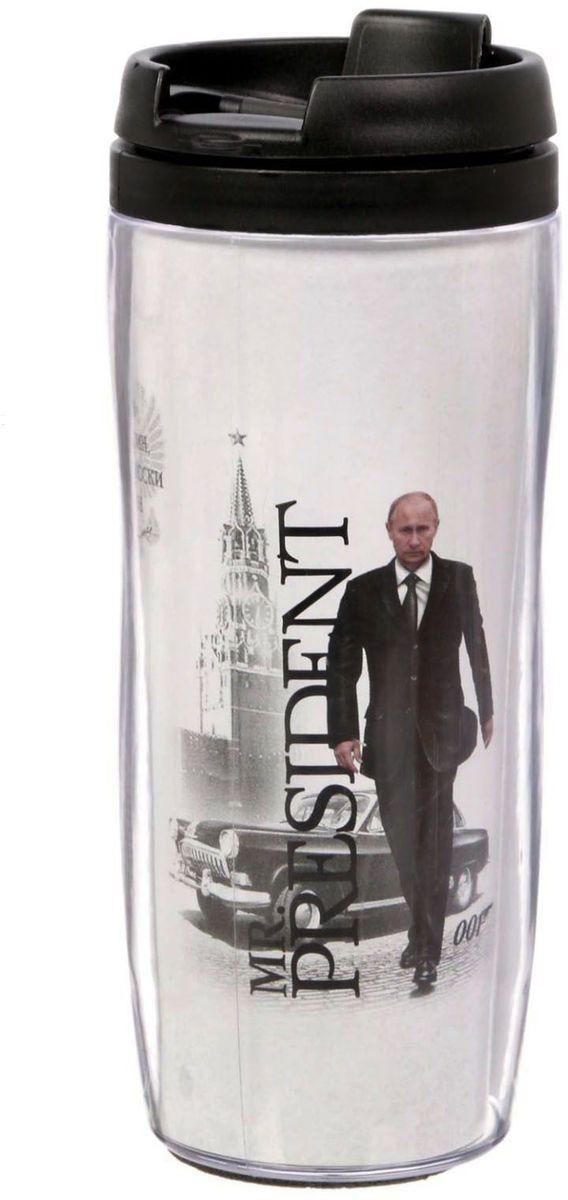 Термостакан Sima-land И один в поле воин. Путин, 350 мл1869039Термостакан Sima-land создан для тех, кто всегда находится в движении. Он выполнен из пластика. Преподнесите своему близкому такой подарок и он, наслаждаясь любимым напитком, будет вспоминать о вас везде: на работе, отдыхе, в дороге. Особенности:Противоскользящая прокладка на дне.Классическая форма высокого стакана обеспечит удобство использования.Авторский дизайн подчеркнет индивидуальность обладателя.Сменный вкладыш.Такой термостакан — практичный аксессуар и чудесный подарок для себя, друга или коллеги.