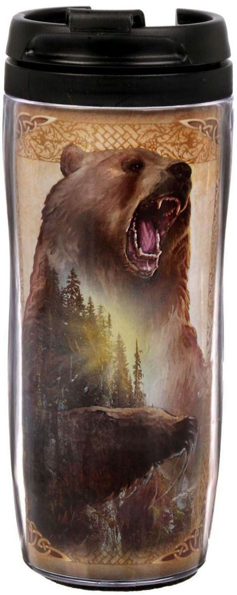 Термостакан Sima-land Медведь хозяин, 350 мл термостакан объектив 95103