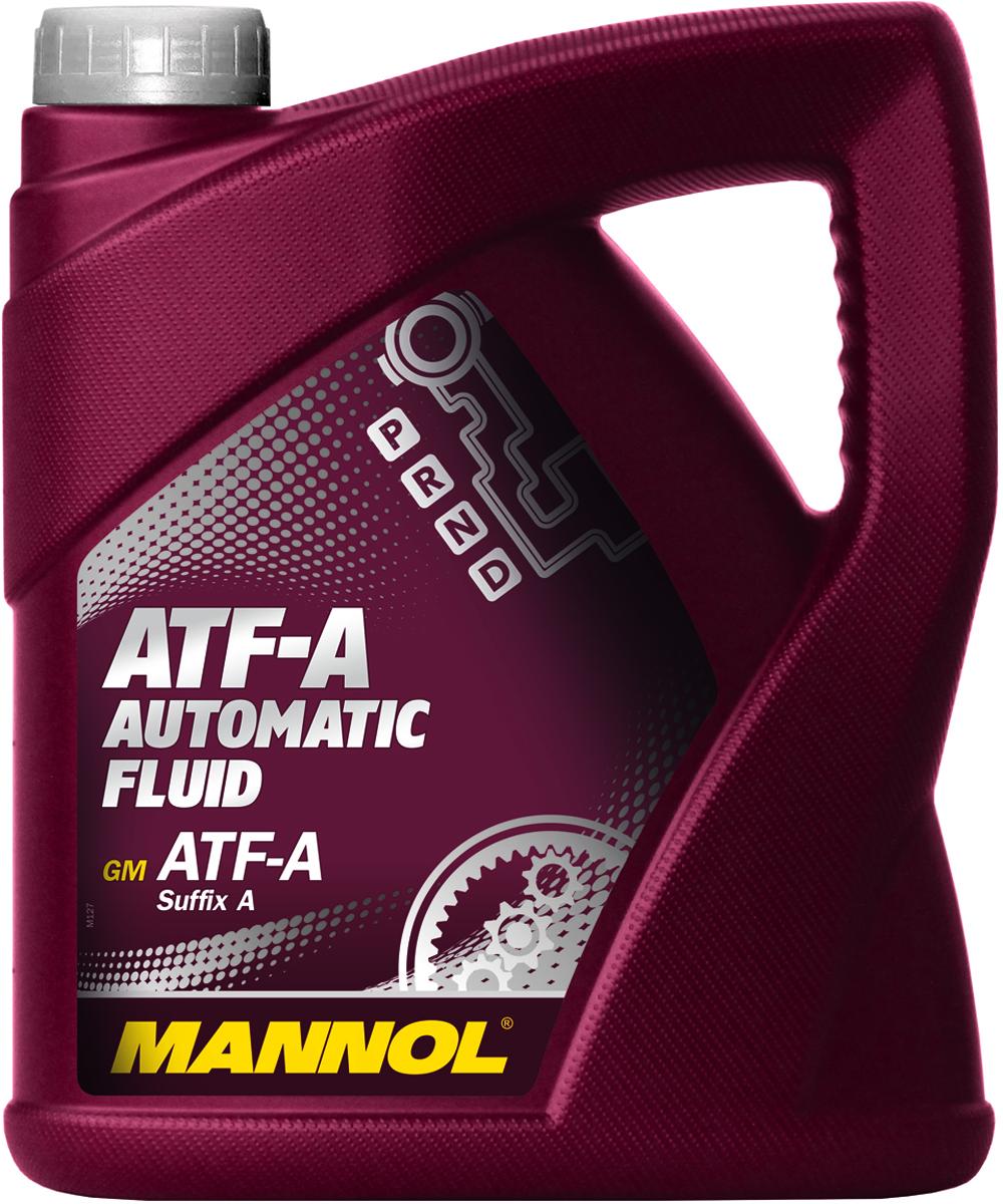 Масло трансмиссионное MANNOL ATF-A PSF, минеральное, 4 л3049Универсальное всесезонное масло MANNOL ATF-A PSF особого качества на минеральной основе для гидроусилителей рулей, соответствующее спецификации GM ATF-A PSF A. Обладает высокими антиокислительными и противо-коррозионными свойствами. Химически нейтрально к любым прокладкам и уплотнителям. Применимо так же для использования в автоматических коробках передач, преобразователях вращения и гидравлических сцеплениях автомобилей.Продукт имеет допуски / соответствует спецификациям / продуктам: ALLISON C3, CATERPILLAR TO-2, GM ATF-A Suffix A. Вязкость при 100°C: 6,9 CSt. Вязкость при 40°C: 36,9 CSt. Индекс вязкости: 149. Плотность при 15°C: 872 kg/m3.Температура вспышки COC: 168 °C. Товар сертифицирован.