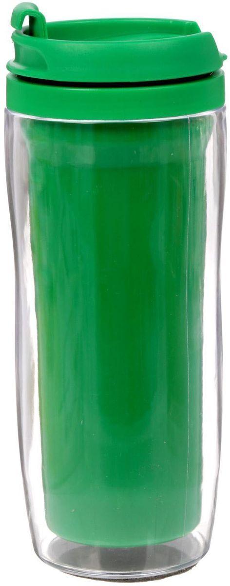Термостакан Sima-land Вид 3, 350 мл1890288Термостакан Sima-land создан для тех, кто всегда находится в движении. Он выполнен из пластика. Преподнесите своему близкому такой подарок и он, наслаждаясь любимым напитком, будет вспоминать о вас везде: на работе, отдыхе, в дороге. Особенности: Противоскользящая прокладка на дне. Классическая форма высокого стакана обеспечит удобство использования. Авторский дизайн подчеркнет индивидуальность обладателя. Сменный вкладыш. Такой термостакан — практичный аксессуар и чудесный подарок для себя, друга или коллеги.