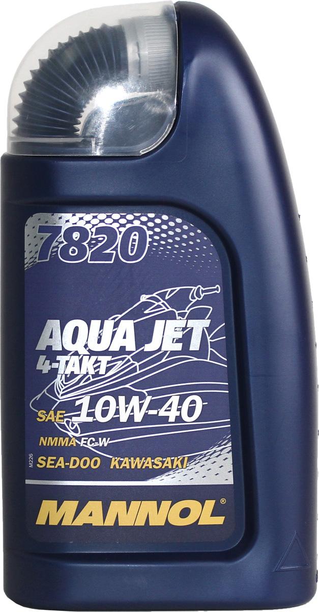 Масло моторное MANNOL Aqua Jet 4-Takt, синтетическое, 1 л1972Моторное масло MANNOL Aqua Jet 4-Takt предназначенное для 4-х тактных двигателей спортивных и туристических гидроциклов с турбонаддувом или без. Современный пакет присадок обеспечивает устойчивую работу системы смазки высоконагруженных водометных движителей. Благодаря отличным антикоррозионным характеристикам масла предотвращается образование коррозии, возникающей вследствие воздействия морской воды и солевого тумана. Исключительно стабильная базовая основа гарантирует максимальную защиту от износа и обеспечивает идеальную чистоту деталей двигателя. Совместимо со всеми каталитическими нейтрализаторами. Продукт имеет допуски / соответствует спецификациям / продуктам: NMMA FC-W, JASO MA, SEA-DOO, KAWASAKI, YAMAHA, SUZUKI, HONDA, BRP ROTAX, POLARIS. Вязкость при 100°C: 13,4 CSt.Вязкость при 40°C: 89,4 CSt.Индекс вязкости: 151.Плотность при 15°C: 860 kg/m3.Температура вспышки COC: 224 °C.Температура застывания: -35 °C.Щелочное число: 5,7 gKOH/kg.Товар сертифицирован.