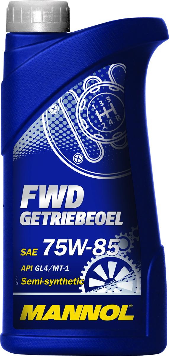 Масло трансмиссионное MANNOL FWD Getriebeoel, 75W-85, полусинтетическое, 1 л1316Трансмиссионное масло MANNOL FWD Getriebeoel – уникальное полусинтетическое всесезонное трансмиссионное масло FWD Getriebeoel (Front Wheel Drive), обеспечивающее надежную и легкую работу механических коробок передач и дифференциалов автомобилей с передним приводом в широком температурном диапазоне: от -40°C до +45°C. Обладает отличными низкотемпературными характеристиками и высокой термостабильностью. Гарантирует продление срока службы синхронизаторов. Продукт имеет допуски / соответствует спецификациям / продуктам: MIL-L 2105.Класс качества по API: GL 4.Вязкость при 100°C: 11,7 CSt.Вязкость при 40°C: 72,4 CSt.Индекс вязкости: 157.Плотность при 15°C: 879 kg/m3.Температура вспышки COC: 210 °C.Температура застывания: -45 °C.Товар сертифицирован.