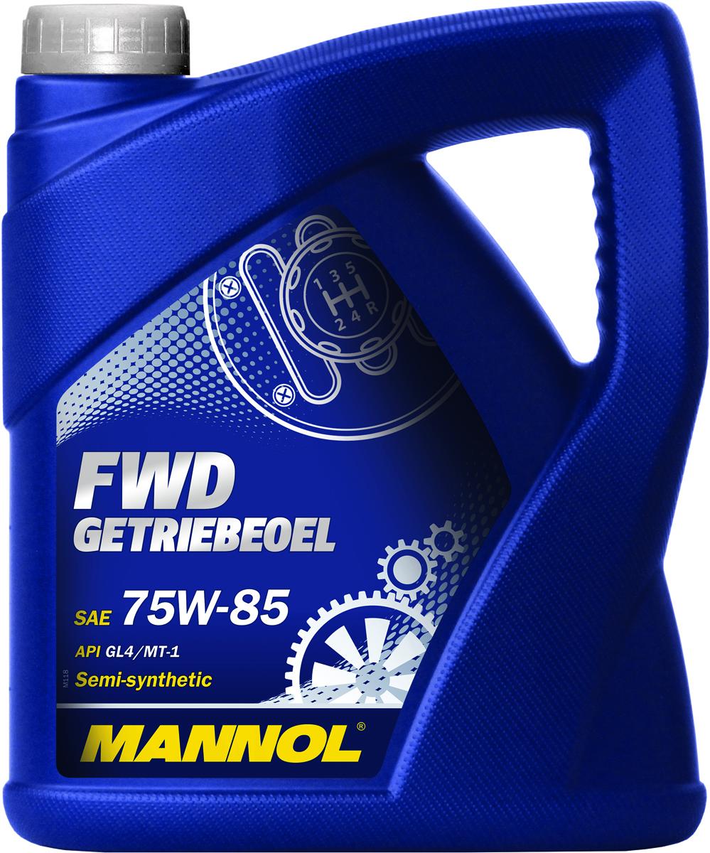 Масло трансмиссионное MANNOL FWD Getriebeoel, 75W-85, полусинтетическое, 4 л1317Трансмиссионное масло MANNOL FWD Getriebeoel - уникальное полусинтетическое всесезонное трансмиссионное масло FWD Getriebeoel (Front Wheel Drive), обеспечивающее надежную и легкую работу механических коробок передач и дифференциалов автомобилей с передним приводом в широком температурном диапазоне: от -40°C до +45°C. Обладает отличными низкотемпературными характеристиками и высокой термостабильностью. Гарантирует продление срока службы синхронизаторов. Продукт имеет допуски / соответствует спецификациям / продуктам: MIL-L 2105.Класс качества по API: GL 4.Вязкость при 100°C: 11,7 CSt.Вязкость при 40°C: 72,4 CSt.Индекс вязкости: 157.Плотность при 15°C: 879 kg/m3.Температура вспышки COC: 210 °C.Температура застывания: -45 °C.Товар сертифицирован.