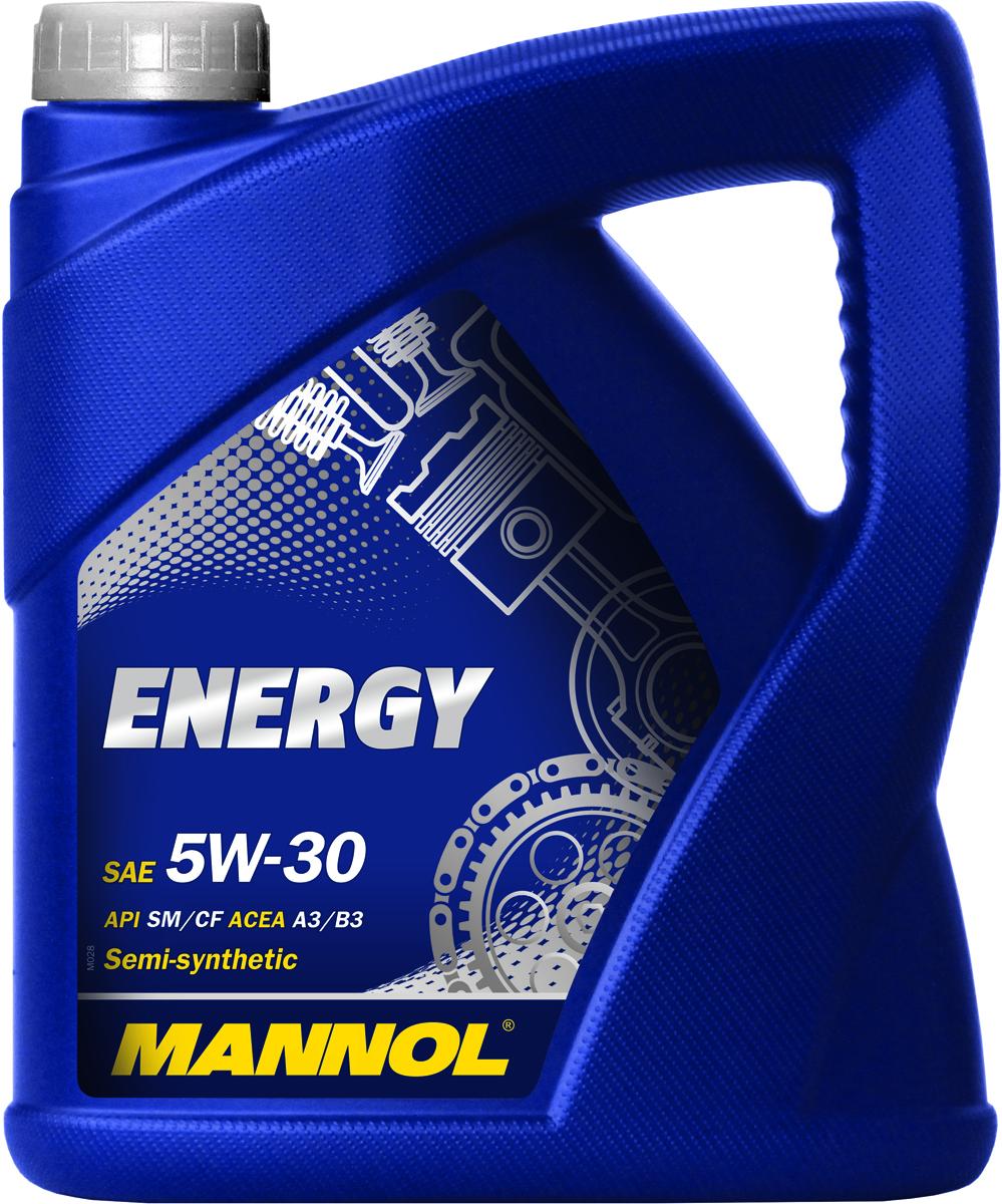 Масло моторное MANNOL Energy, 5W-30, синтетическое, 4л4024Моторное масло MANNOL Energy 5W-30 - универсальное всесезонное полусинтетическое моторное масло, предназначенное для современных бензиновых и дизельных двигателей с турбонаддувом и без. Разработано с использованием специальной новой уникальной технологии снижения износа. Моторное масло MANNOL Energy обеспечивает высокую степень защиты. Гарантирует исключительную чистоту деталей двигателя. Эффективно экономит топливо. MANNOL Energy - это надежная работа двигателя в условиях высоких нагрузок, скоростей и частой смены температур.Допуски и соответствия ACEA A3/B4, VW 502.00/505.00, MB 229.3.Вязкость при -30°C: 5240 CP. Вязкость при 100°C: 11,18 CSt.Вязкость при 40°C: 66,37 CSt.Индекс вязкости: 161.Плотность при 15°C: 852 kg/m3.Температура вспышки COC: 224 °C.Температура застывания: -45 °C.Щелочное число: 8,22 gKOH/kg.Товар сертифицирован.