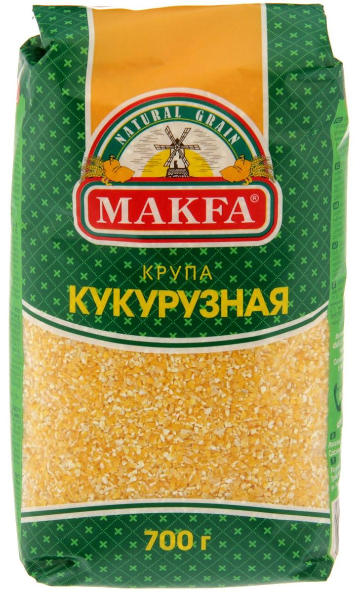Makfa кукурузная крупа, 700 г122-7Кукурузная крупа - один из самых диетических злаков в мире. Благодаря отсутствию клейковины, то есть глютена, кукурузная крупа низкоаллергенна и отлично вписывается в любой рацион, вплоть до детского питания - наряду с рисом и гречкой она может стать основой для первого прикорма и любимой кашей вашего малыша.Лайфхаки по варке круп и пасты. Статья OZON Гид