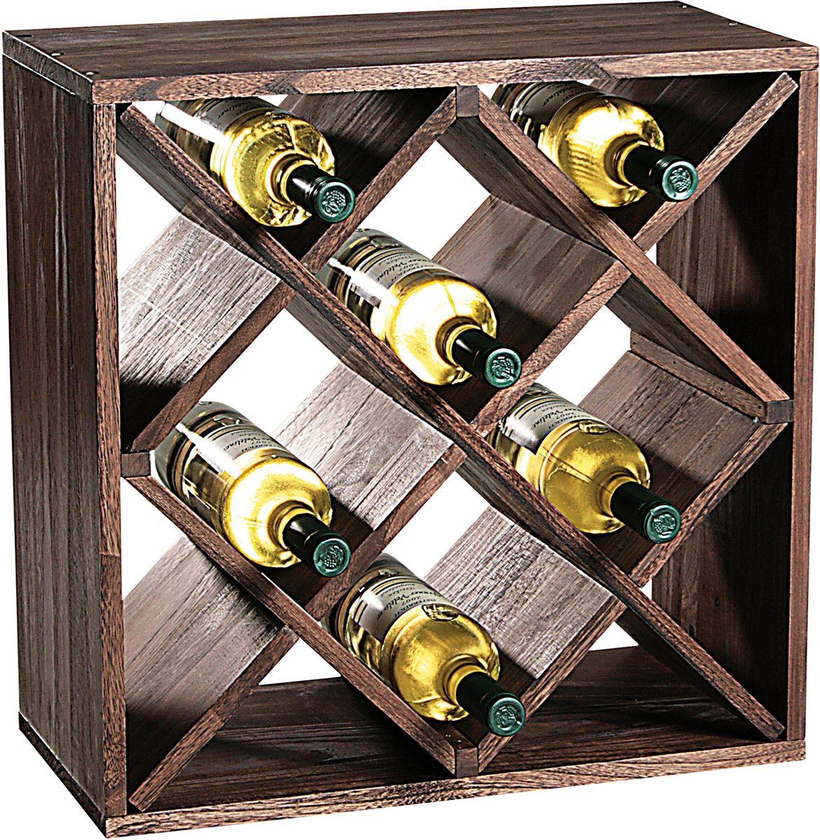 Подставка для бутылок Kesper, 50 х 50 х 25, дерево. 6924-4 набор инструмента selta 6924