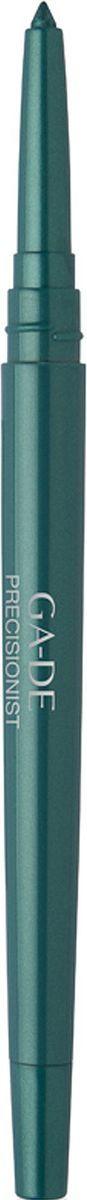GA-DE Водостойкий карандаш для глаз Precisionist, тон №54, 0,25 г133200054Водостойкий контурный карандаш, позволяющий с высокой точностью подчеркнуть контур глаз, придавая им яркость и выразительность на протяжении всего дня. Благодаря особой формуле и нежной, бархатистой текстуре, карандаш прекрасно наносится, мягко скользит по веку, не травмирует и не раздражает нежную кожу. Карандаш обогащен также смягчающим компонентом на основе алоэ-вера и включает интегрированную в корпус точилку, которая является удобным и практичным дополнением для самозатачивания.