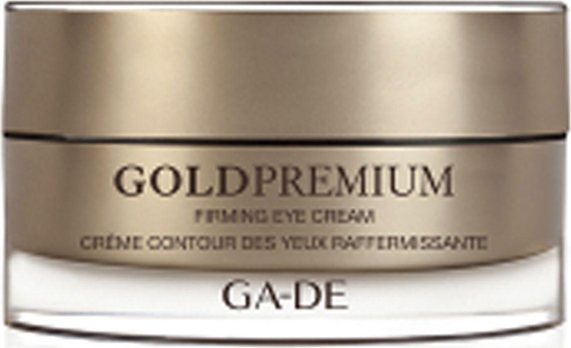 GA-DE Крем для кожи вокруг глаз Gold Premium, 15 мл147300000В состав крема входит LiftoPeptide – инновационный комплекс пептидов, который эффективно борется с дряблостью кожи, ремодулируя контуры лица. Комплекс растительных экстрактов восстанавливают защитные механизмы кожи вокруг глаз, а кофеин в составе крема нормализует водно-солевой баланс и осветляет темные круги под глазами.