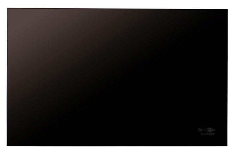 Теплофон ЭРГН 0,4 Glassar, Black инфракрасный электрообогреватель1600000360457Настенный стеклянный инфракрасный обогреватель Теплофон ЭРГН 0,4 Glassar является новейшей разработкой российского производителя теплового оборудования.Инфракрасный обогреватель Теплофон ЭРГН 0,4 Glassar представляет собой греющую панель из закаленного стекла, длиной 70 см и высотой 45 см. При этом толщина стеклянной панели с защитным экраном не превышает 5 мм, а вместе с креплениями и настенным кронштейном расстояние рабочей поверхности инфракрасного обогревателя не превысит 4.5 см от стены.Производитель предусмотрел защиту отопительного прибора от перегрева, которая отключает нагревательный элемент от сети питания при достижении температуры поверхности обогревателя 95 °C.Настенные инфракрасные обогреватели ЭРГНА предназначены для основного и дополнительного обогрева жилых, общественных, административно-бытовых помещений, а также для обогрева обитаемых помещений, не предназначенных для бытового использования, например магазинов, на предприятиях легкой промышленности, для отопления дачных домиков, полевых вагончиков.Применение настенного инфракрасного обогревателя совместно с терморегулятором позволяет существенно экономить электроэнергию и создавать оптимальные комфортные условия в обогреваемом помещении.Бытовой инфракрасный обогреватель Теплофон ЭРГН 0,4 Glassar работает в нижнем спектре длинноволнового инфракрасного диапазона электромагнитного излучения, которое абсолютно безопасно для людей, животных и растений. Очень важно, что при работе обогревателя Теплофон Glassar не меняются качественные характеристики воздуха в отапливаемом помещении, нет осушающего воздействия теплового излучения на кожный покров и слизистую роговицы глаза, чем не могут похвастаться мощные инфракрасные обогреватели, работающие в среднечастотном спектре инфракрасного излучения.